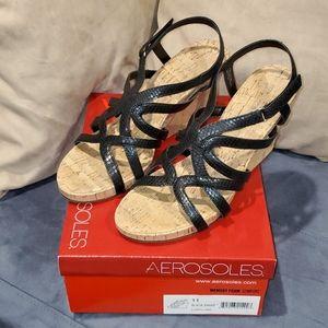 Ladies wedge heels